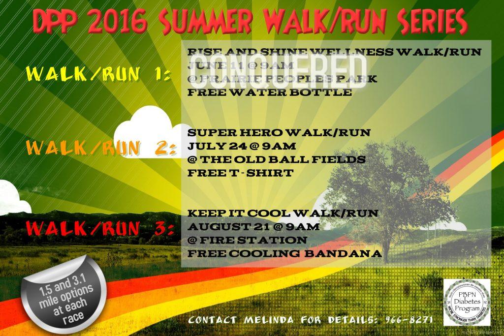 DPP WALK RUN SERIES 2016