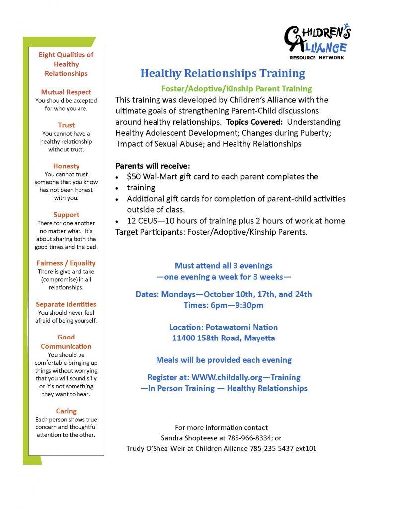 PN HR Training Flyer 2016
